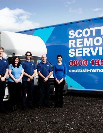 Scottish Removals Crew