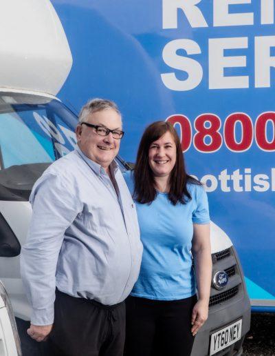 Scottish Removals - Melissa and Roddy