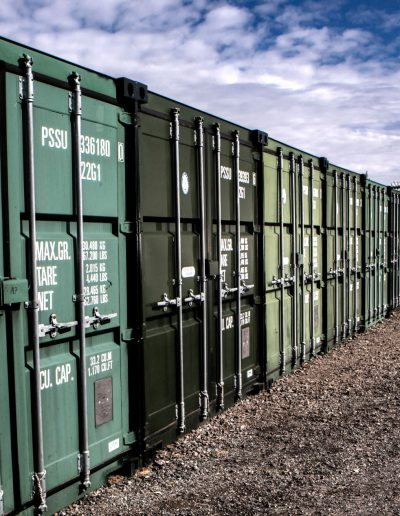 Scottish Removals - Outside Storage Containers